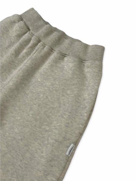 Le Bon Shoppe Essential Barrel Joggers - Light Grey