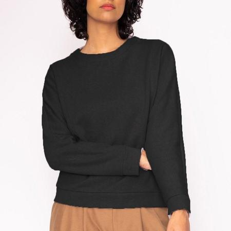 Valérie Dumaine Aspen Fleece Sweater - Washed Black
