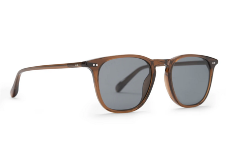 DIFF Maxwell Polarized Sunglasses - Whiskey/Grey