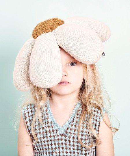 Kids Oeuf Daisy Pillow - White