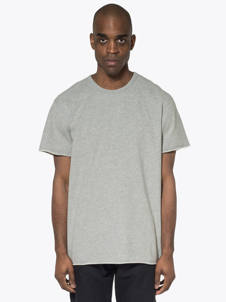 Reigning Champ Raw Edge Short Sleeve Crewneck
