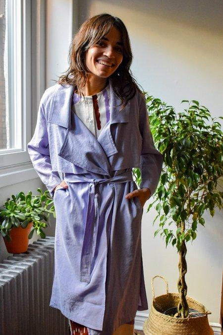 Eve Gravel Bal Masque Jacket - Lavender