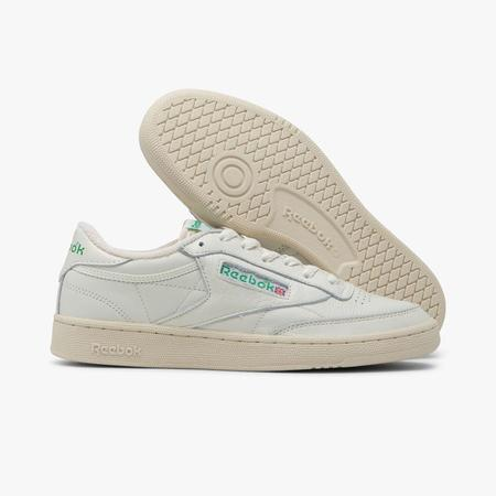 Reebok Club C 85 TV  Shoes - White / Green