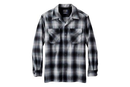 Pendleton Board Shirt - Grey Ombre