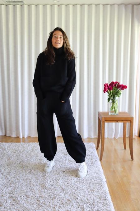 LF Markey Kael Knit Jumper - Black