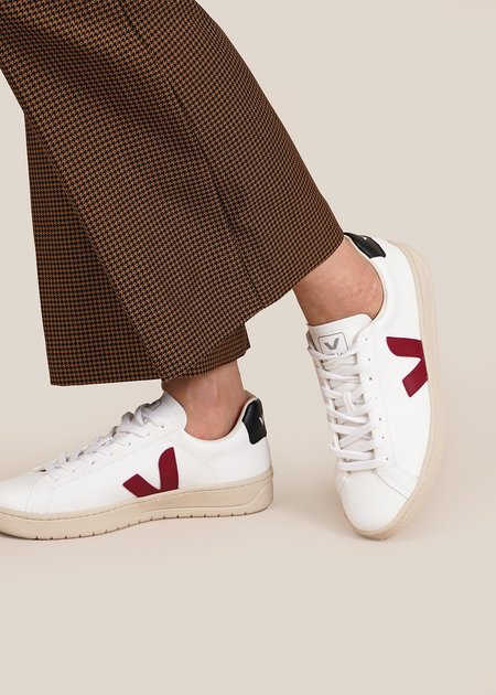 Unisex VEJA Urca Sneakers - White/Marsala