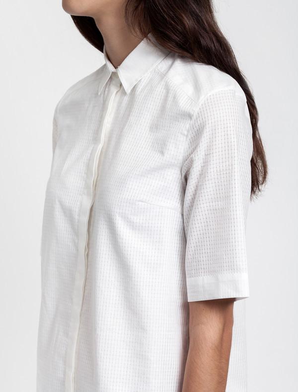 Thakoon Addition Ruffle Hem Shirt Dress