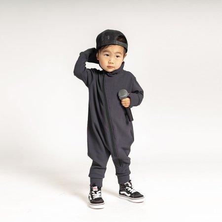 Kids Bash + Sass Maverick Romper - Charcoal
