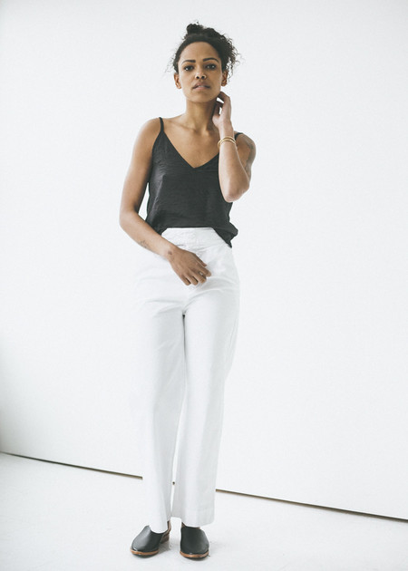 Lacausa Uniform Trouser in Whitewash