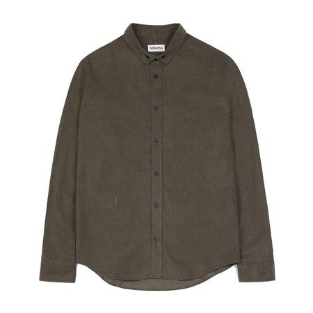 Kenzo Baby Cord Comfort Shirt - Charcoal