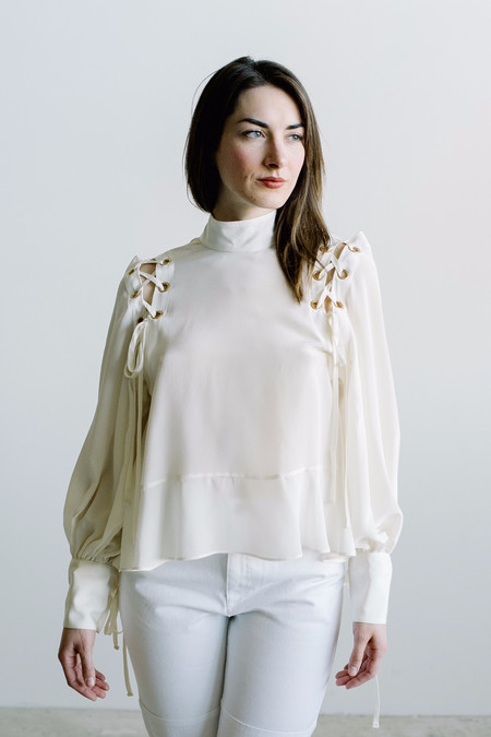 Arcana Eyre Blouse - Cream
