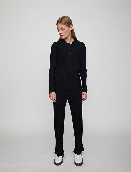 Just Female Fate Knit Pants - Black