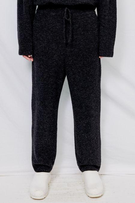LE17SEPTEMBRE HOMME Boucle Knit Pants - Dark Grey