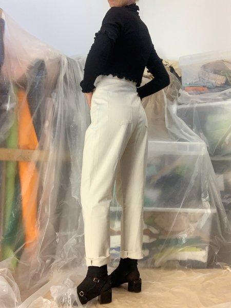 DÉSIRÉEKLEIN high waist Lotta Pants - Unbleached