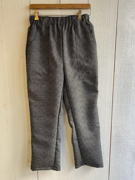 Conrado Remy Woven Pants - Grey/Black