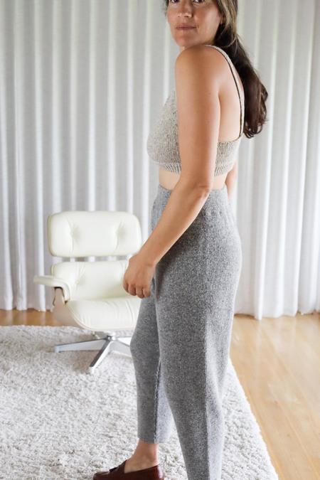 Mónica Cordera Soft Wool Pants - Grey