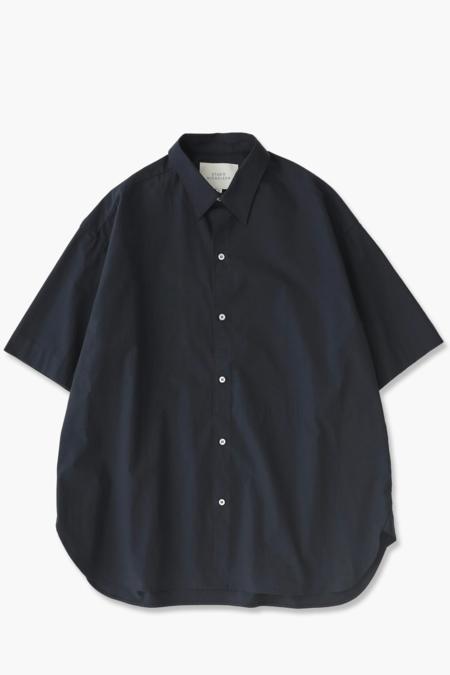 Studio Nicholson Sorono Shirt - Dark Navy