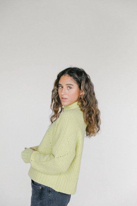 Line the Label Ramona Sweater - Citronella