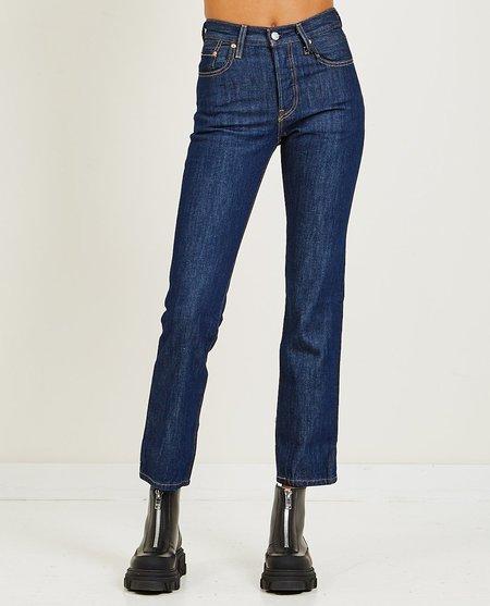 Levi's 501 Across A Plain Jeans - Blue