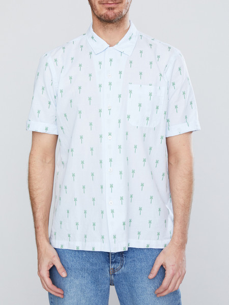 Universal Works Road Shirt in Palm Weave