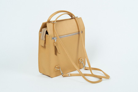 Clyde Best Bag in Apricot Leather