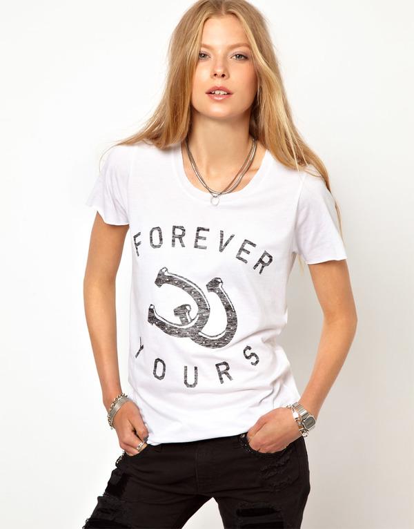 Zoe Karssen 'Forever Yours' tee