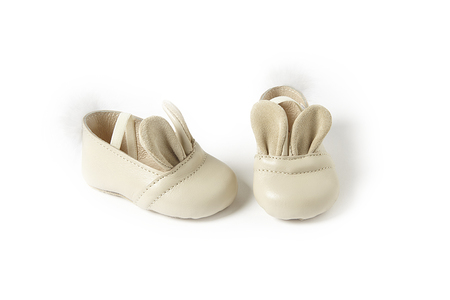 Sonatina Bunny-Shoes-In-Ivory-Leather