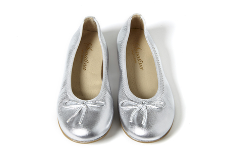 Sonatina Pampered-Silver-Patent-Leather-Shoes