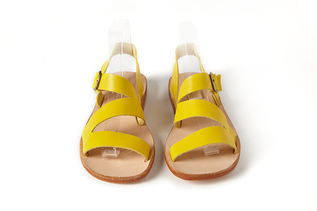 Sonatina Milano-Citron-Leather-Sandals