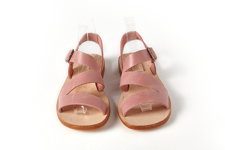 Kids Sonatina Milano-Pink-Leather-Sandals