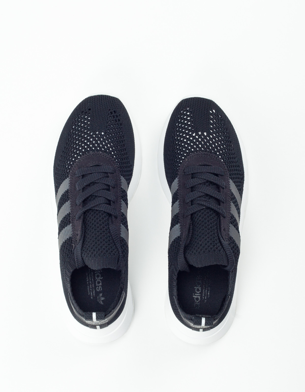 the latest a13a6 02810 adidas Flashback Primeknit Core Black Footwear White  Garmen
