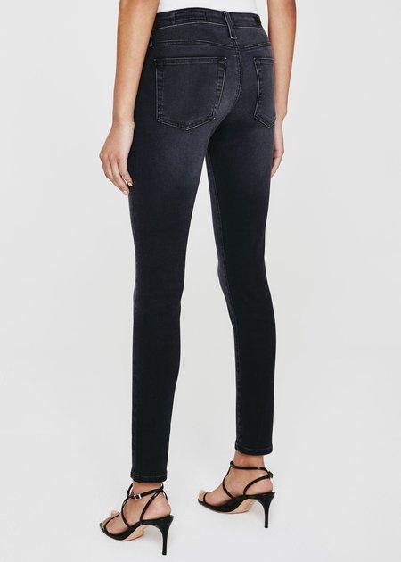 Farrah High-Rise Skinny Jeans in Bronx