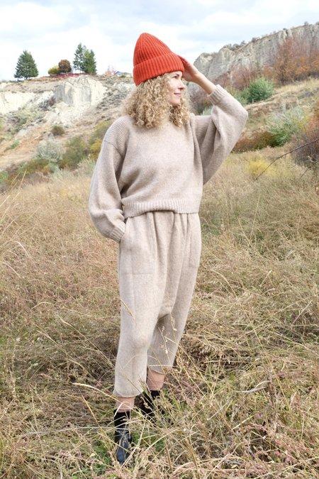 Atelier Delphine Light Balloon Sleeve Sweater - Grain