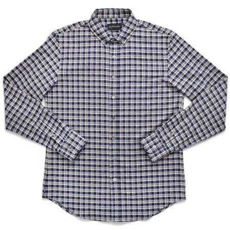 Outclass Flannel Shirt - Navy Check