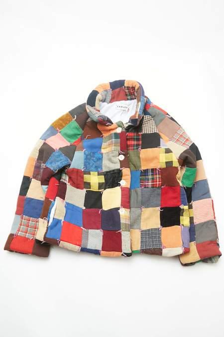 Carleen Beau Raglan Quilt Jacket - OOAK Vintage Quilt