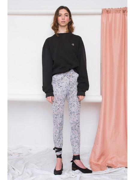 Issey Miyake Marble Floral Slim Pant