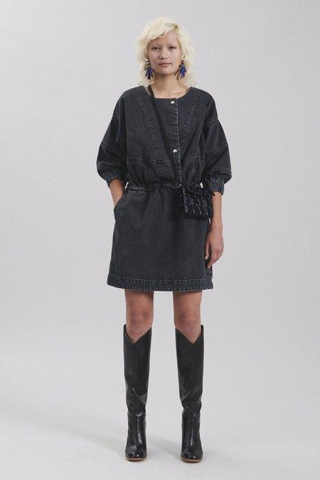 Rachel Comey Holt Dress - Washed Black Denim