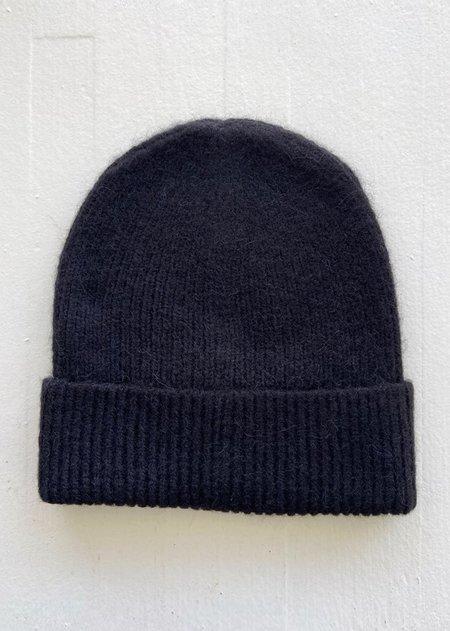 Micaela Greg Rib Hat - Black