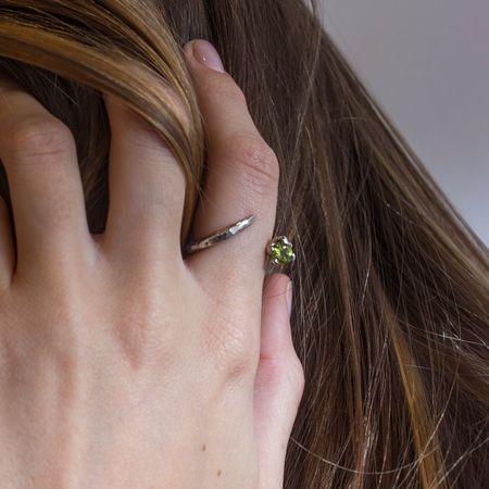 Sarah De Gasperis 'Windy Peridot Ring'