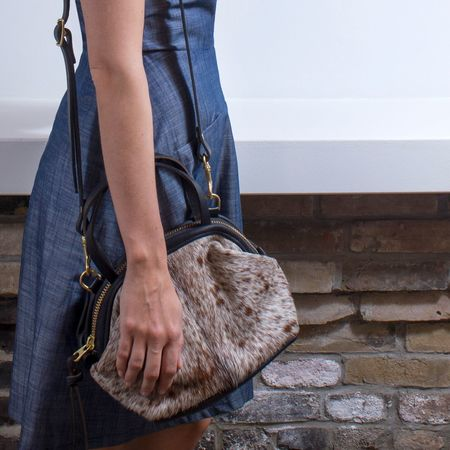 Eleven Thirty 'Katie' large hide bag