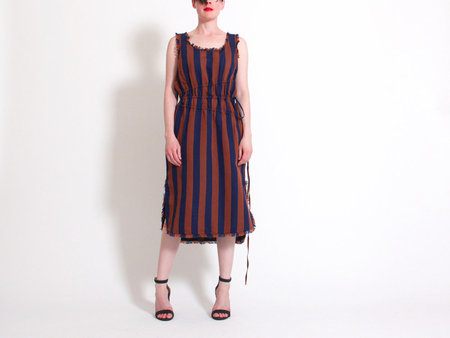 D.efect Liana Sleeveless Stripe Dress