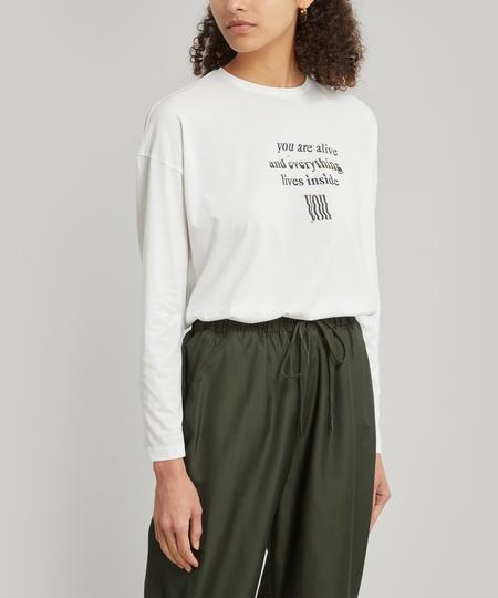 Paloma Wool souvenir universe sweater - white