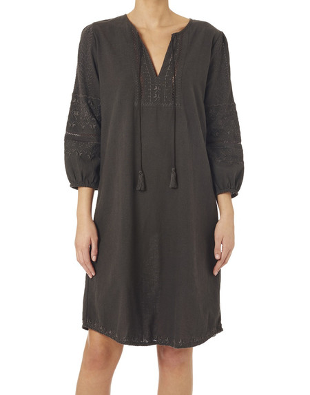 Star Mela Alana Embroidered Tunic Dress