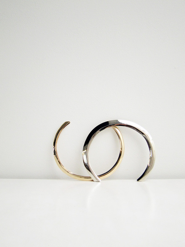 Samma Collar | White Brass
