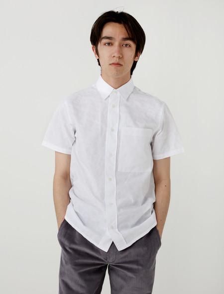 Gosha Rubchinskiy Paisley SS Shirt - White
