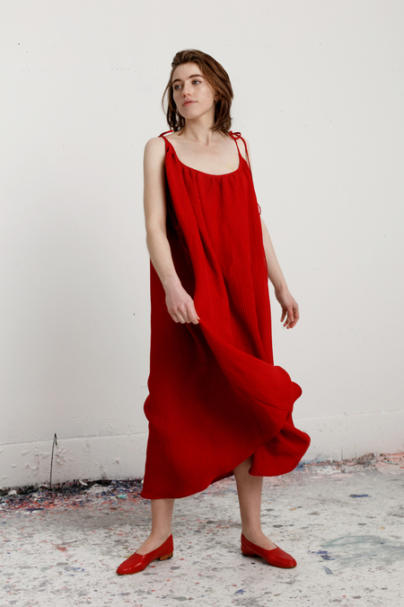 Luisa et La Luna - Davey Dress - Red