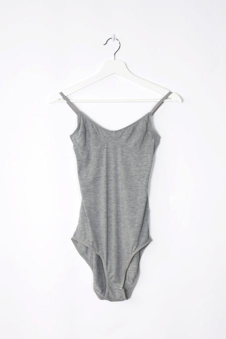 Baserange Bodysuit with Bra in Grey
