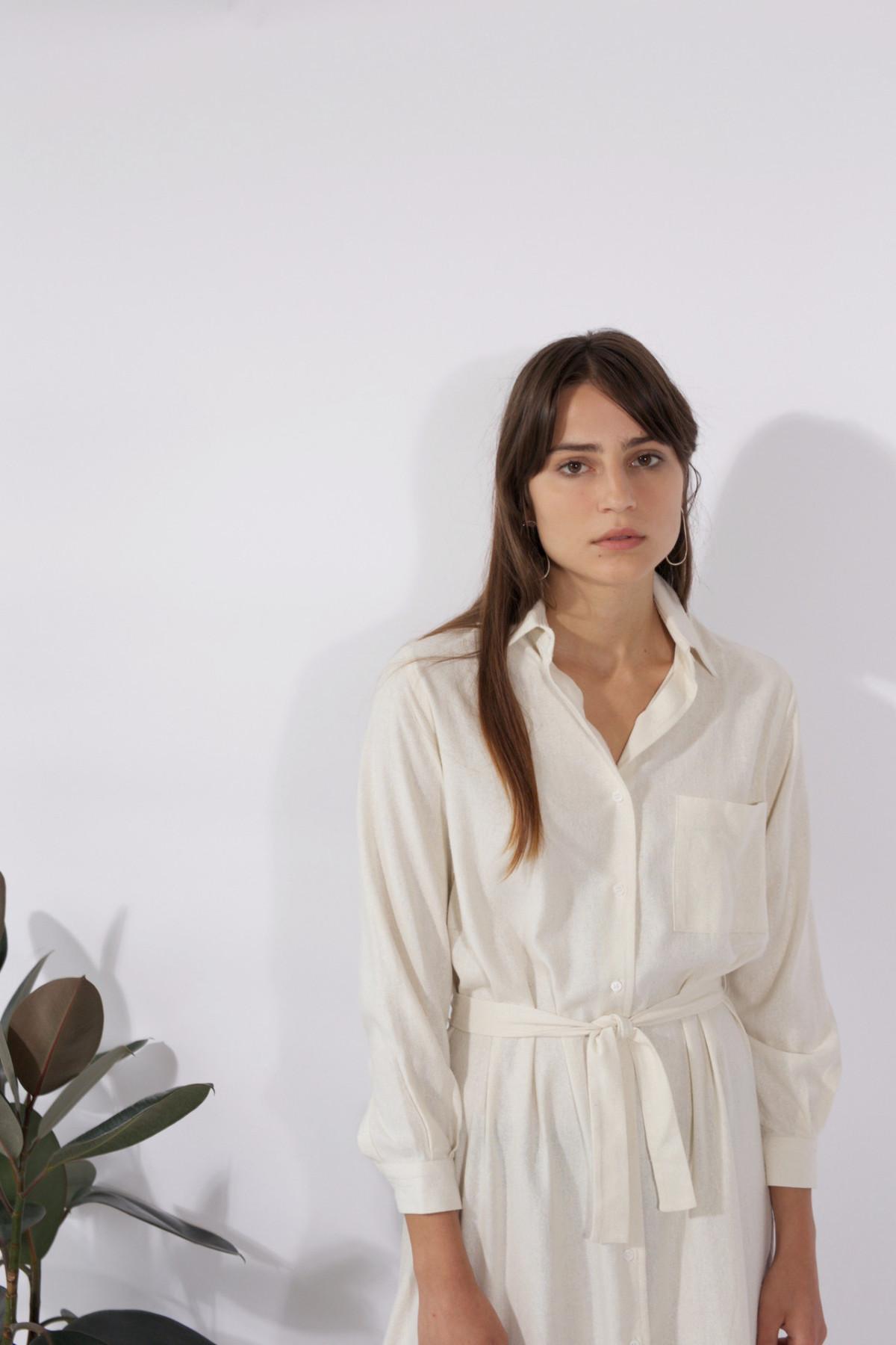 Baserange Wild Silk Shirt Dress Garmentory