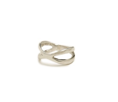 Isobel and Ezra Karolina Ring - Sterling Silver