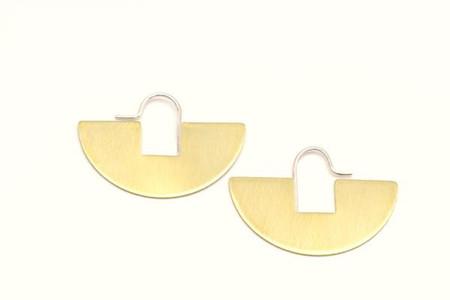 Lumafina Arco Iris Hoop Earrings